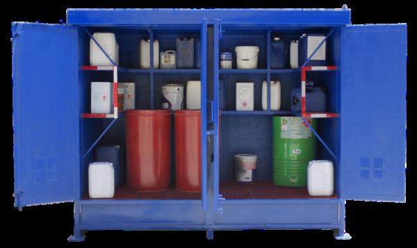 bodega de residuos peligrosos bodegas de sustancias peligrosas