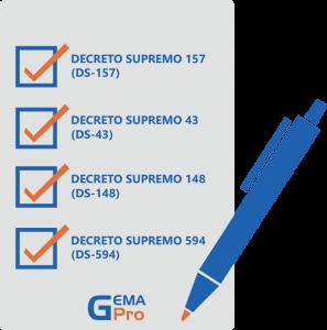 Check Decreto Supremo Gemapro