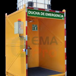 ducha de emergencia con cabina gemapro