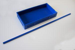 bandeja antiderrame y barra removible