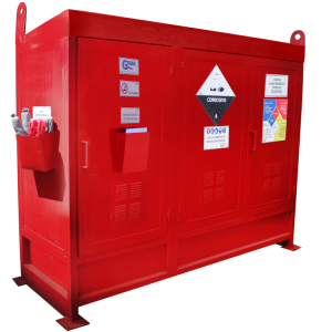 bodega modular sustancias peligrosas y bodega modular residuos peligrosos
