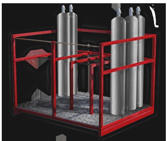 Pallet Cilindros de Gas