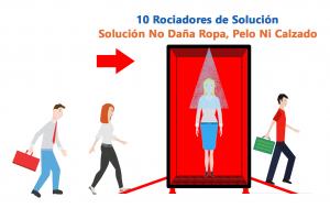 Caseta Túnel Desinfectante Gemapro Grafica