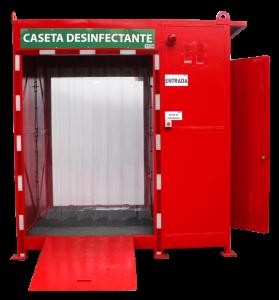 caseta tunel desinfectante gemapro