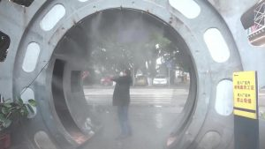Túnel Desinfectante Caso China