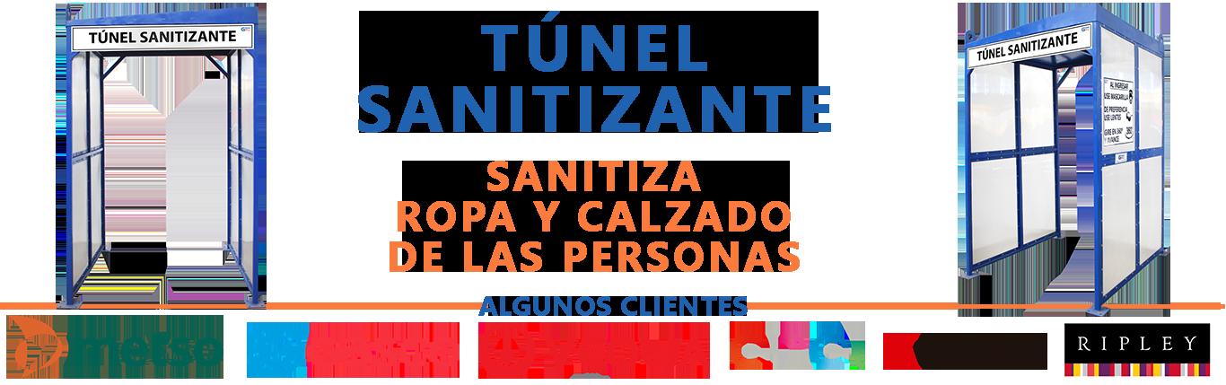 túnel sanitizante chile 2020