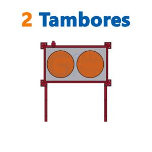 bodega de residuos y sustancias peligrosas Gemapro 2 tambores