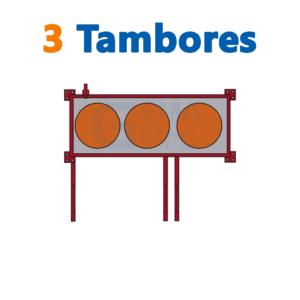 bodega de residuos y sustancias peligrosas Gemapro 3 tambores