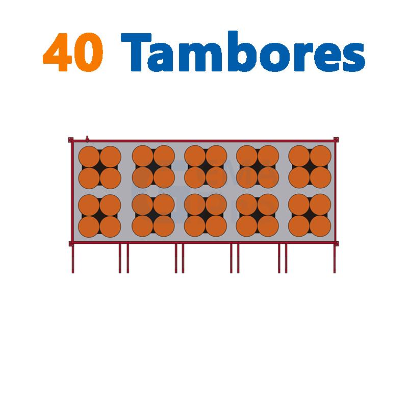 40 TAMBORES