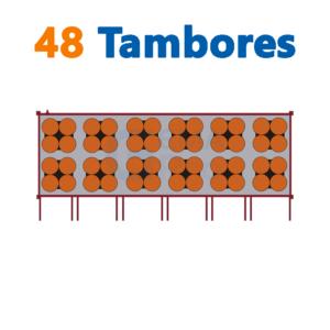 bodega de residuos y sustancias peligrosas Gemapro 48 tambores