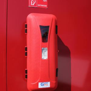 porta extintor caja de extintor Gemapro