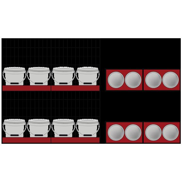 8 Tinetas / Line 60