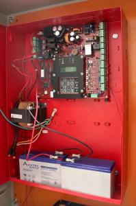 sistema automatico inteligente anti incendios