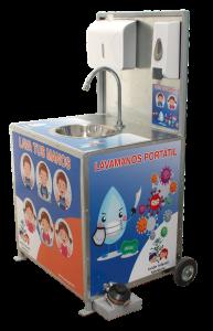 Lavamanos portátil para niños desinfección de manos Gemapro