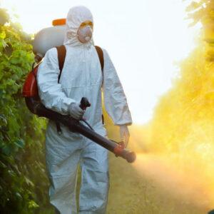 Autorización para aplicar desinfectantes