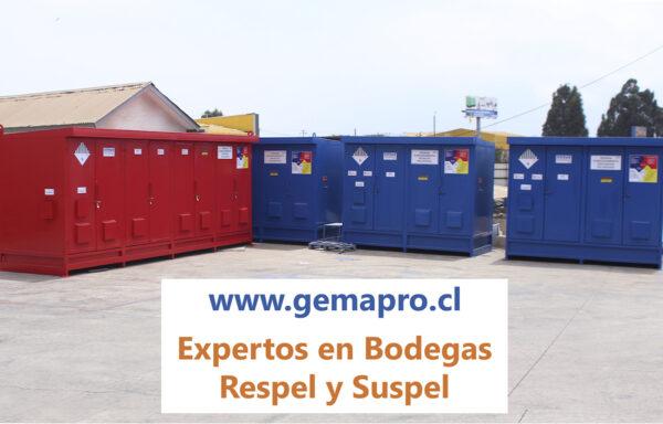 BODEGA DE SUSTANCIAS PELIGROSAS Y RESIDUOS PELIGROSOS SUSPEL RESPEL GEMAPRO