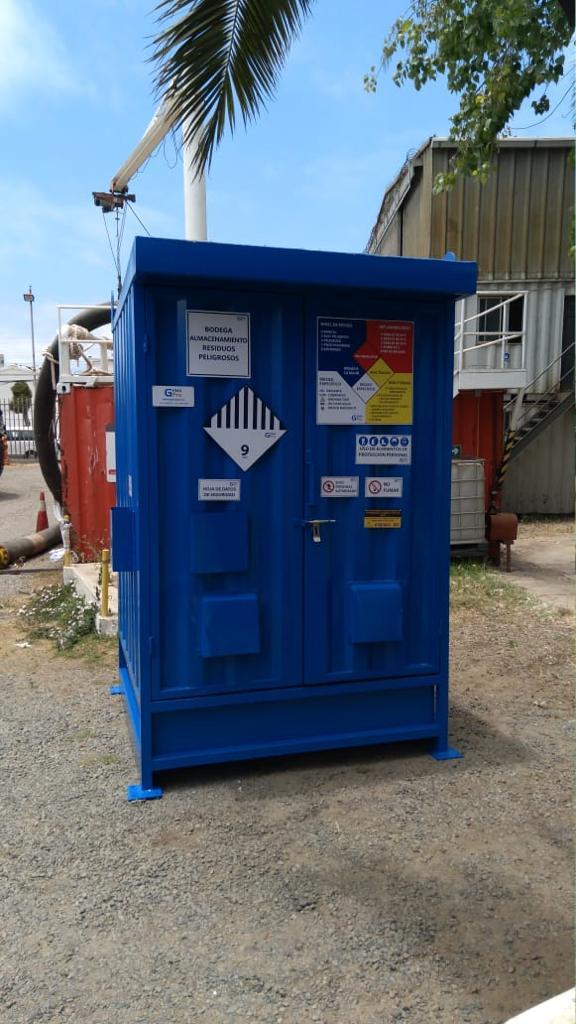 bodega de residuos peligrosos - bodega de sustancias peligrosas Gemapro